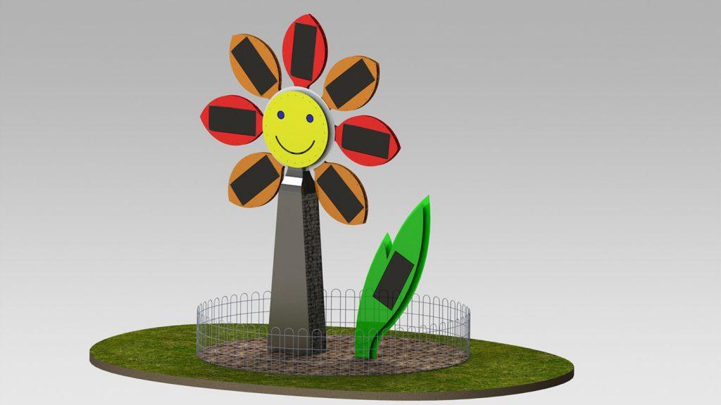 Fiore fotovoltaico