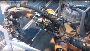Robot saldatura reti
