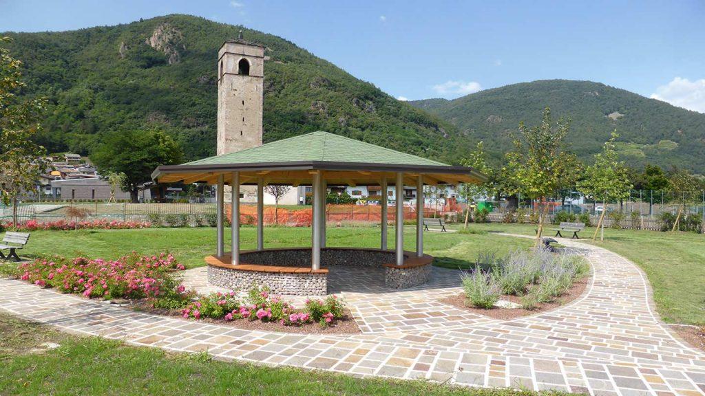 Gazebo parco pubblico