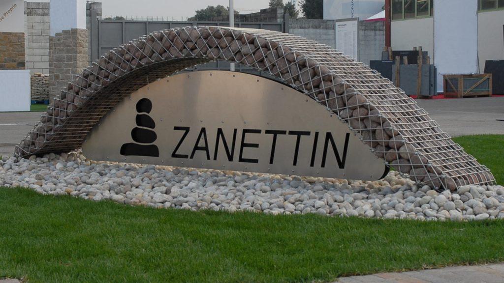 Logo Zanettin marmomacc 2016