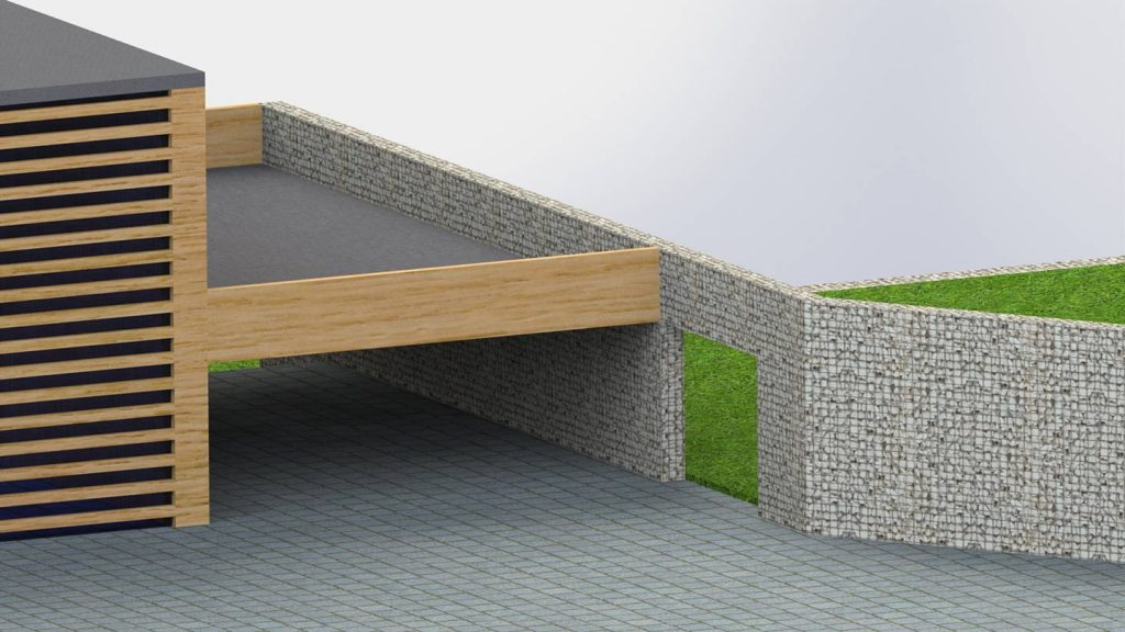 Muri di sostegno terrazza