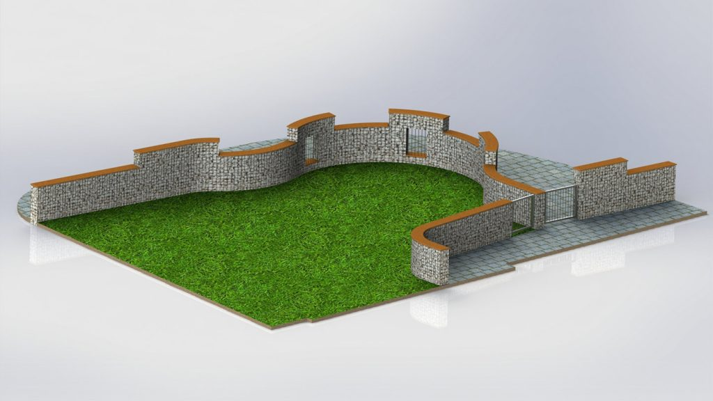 Muro giardino