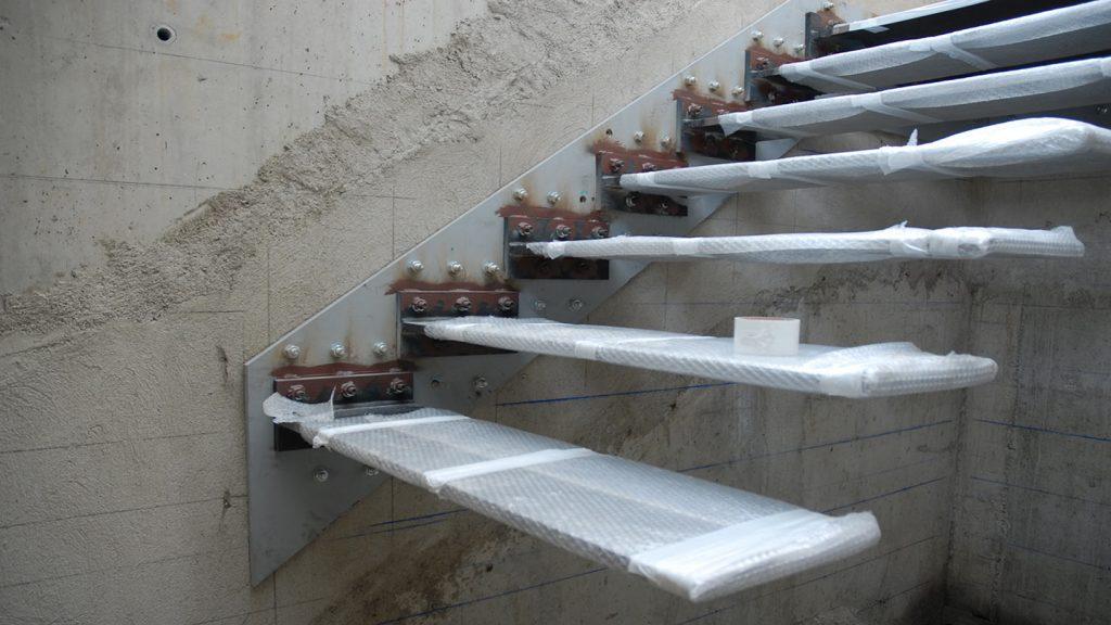 Protezione scalini