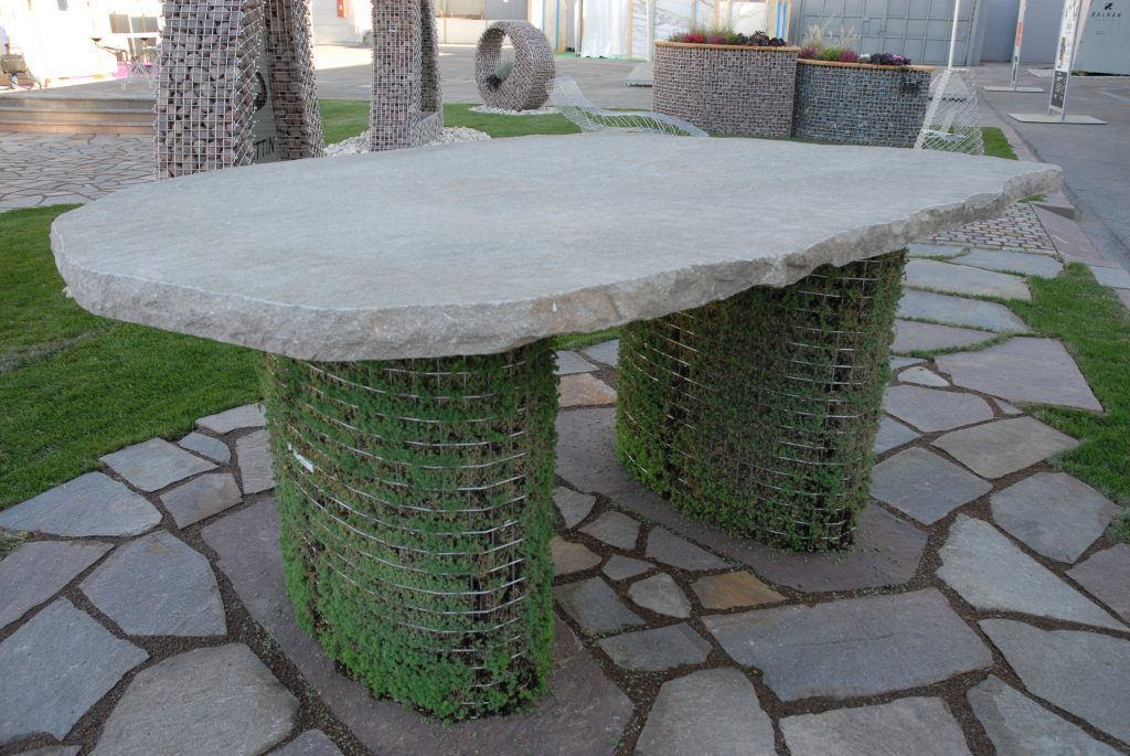 Tavolo verde verticale