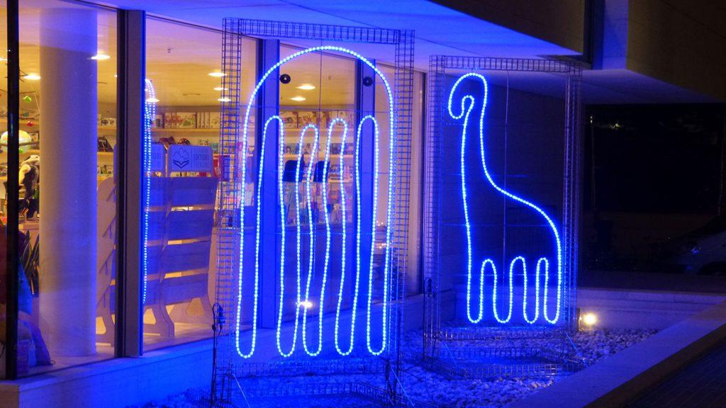 Animali di luce museo MUSE