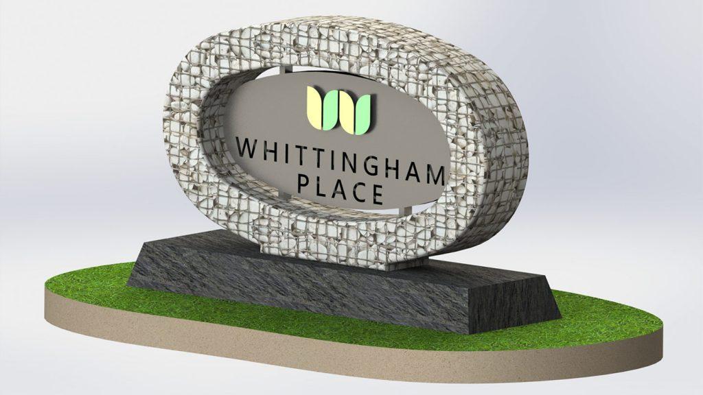 Logo Whittingham place