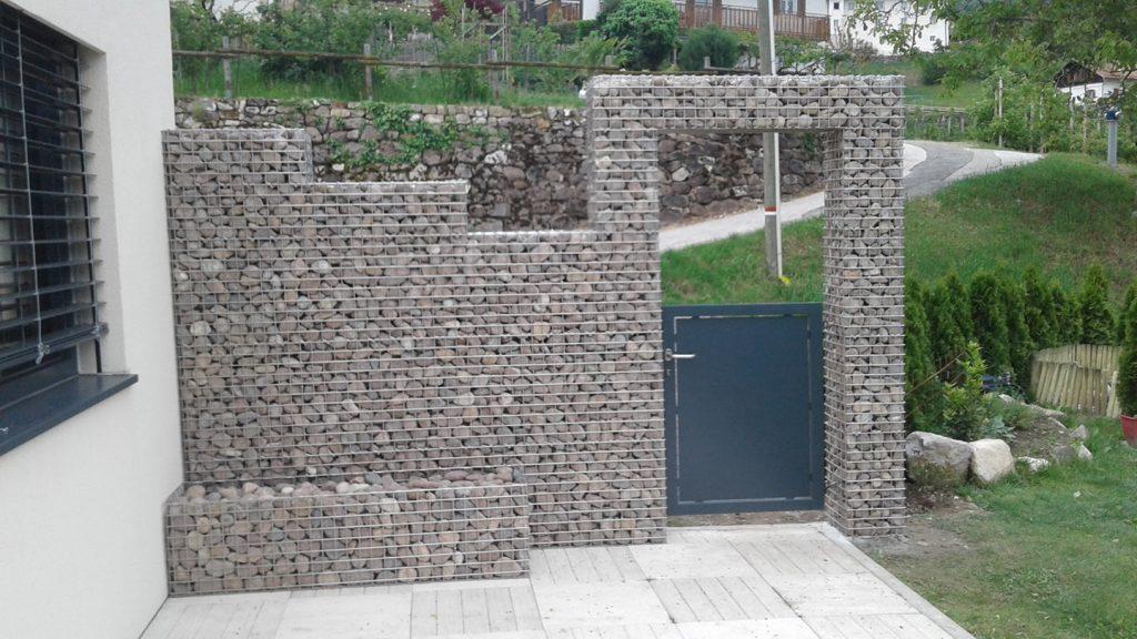 Muro per giardino