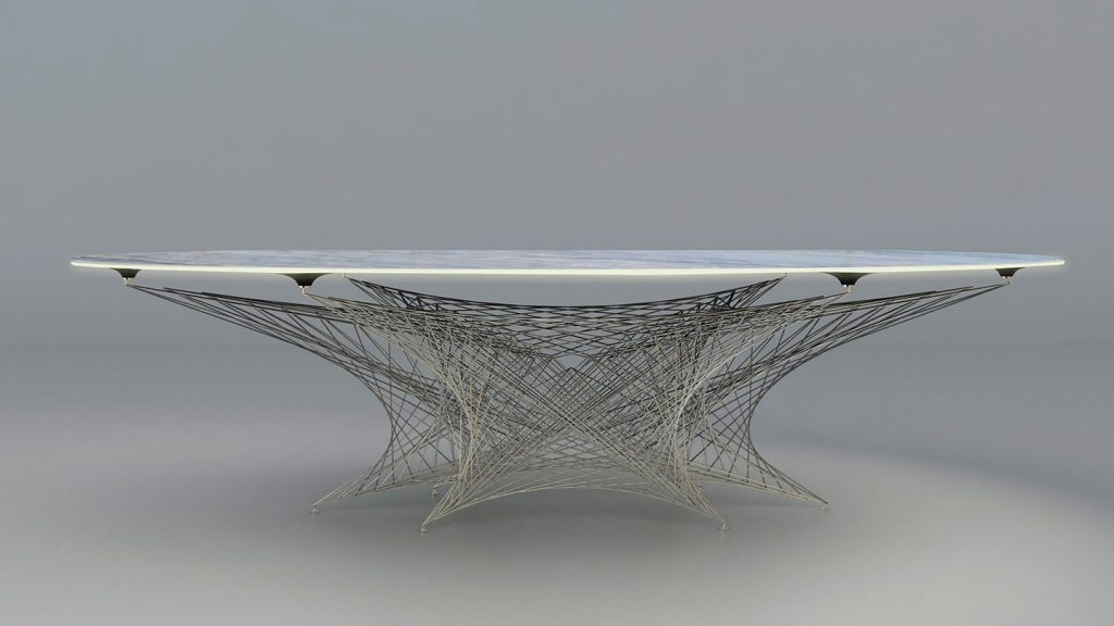 Tavolo design arch. Fallacara
