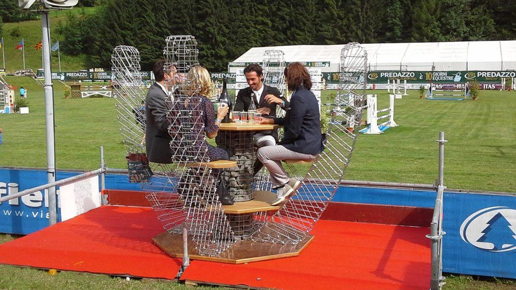 Tavolo dei vincitori a ottagono