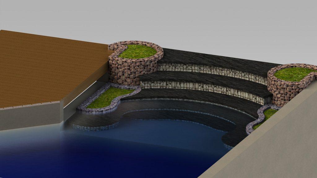 Bio lago piscina