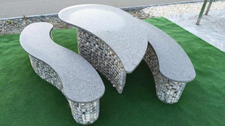 round gabions for drop table