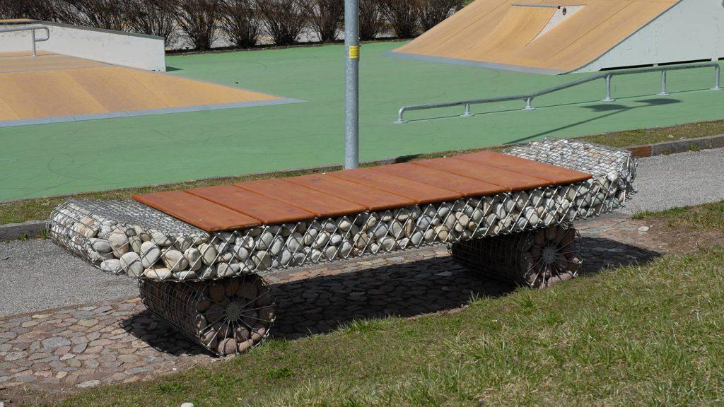 Panchina skate park