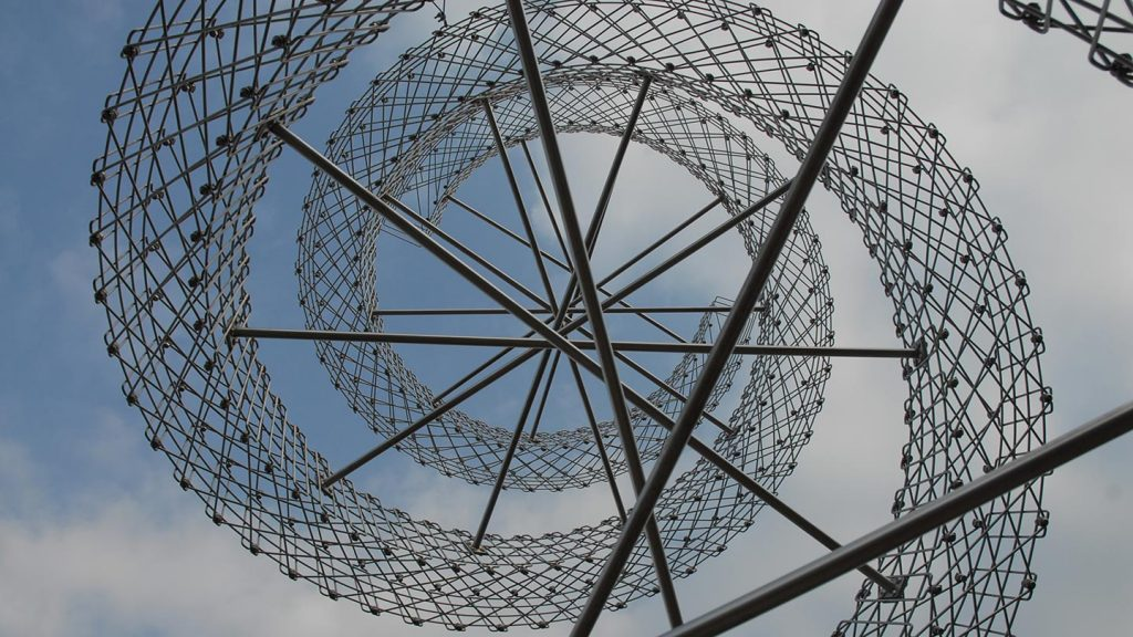 Spirale DNA in acciaio inox