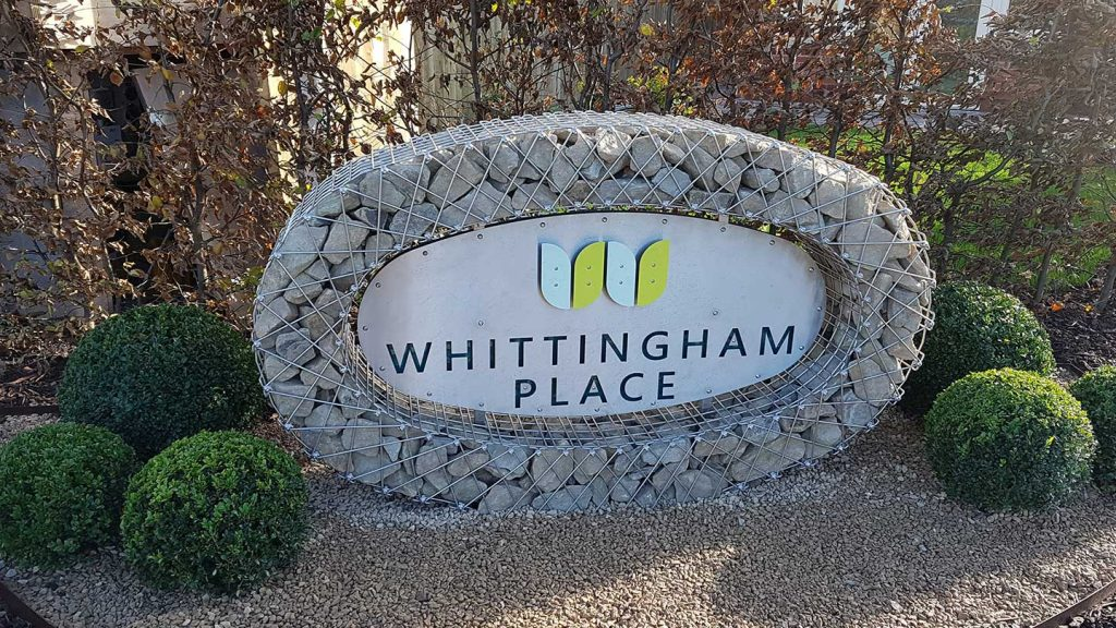 Logo Whittingham place